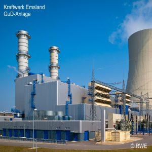 Kraftwerk Emslad - GuD-Anlage
