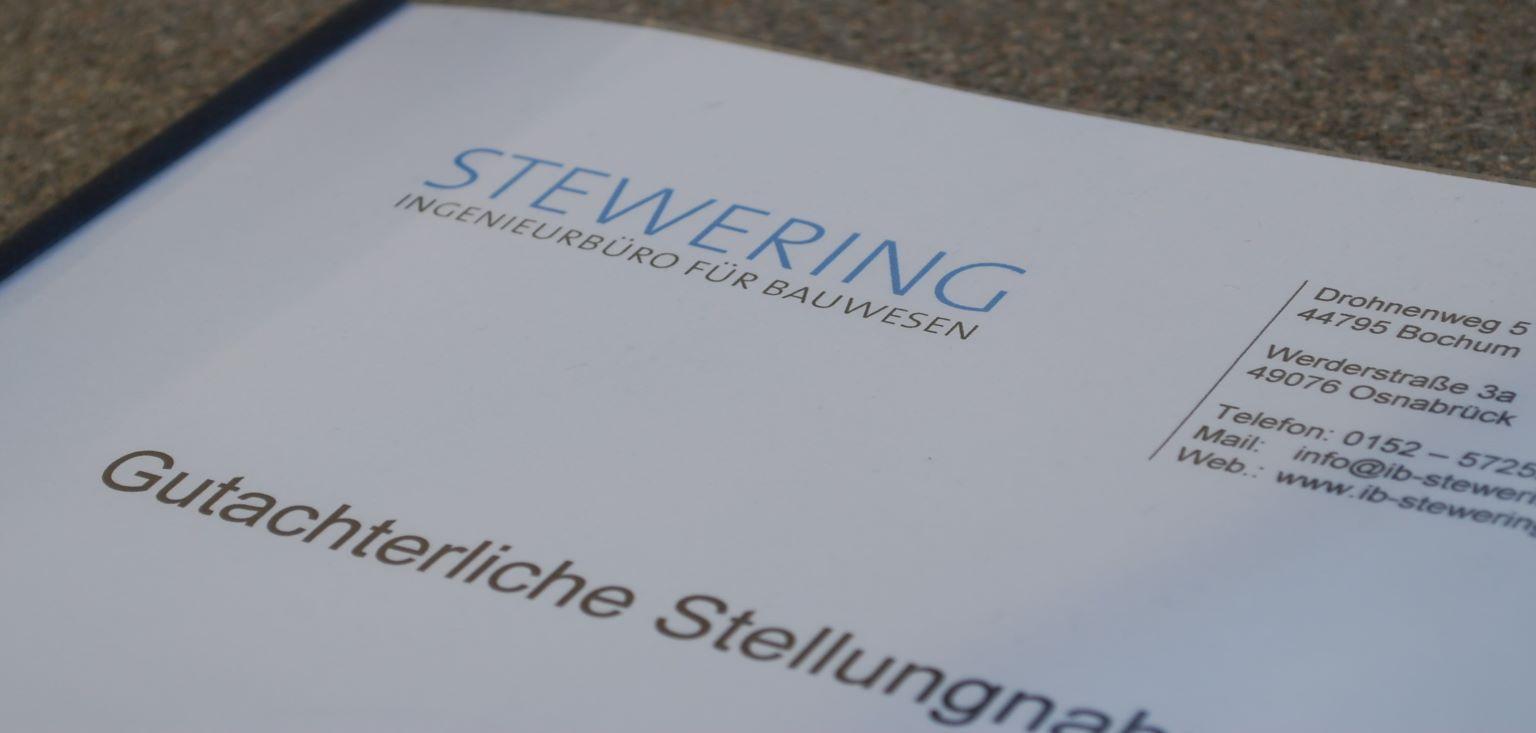 Schadengutachten-Ingenieurbüro-Stewering